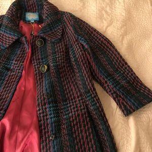 Mid length anthropology dress coat